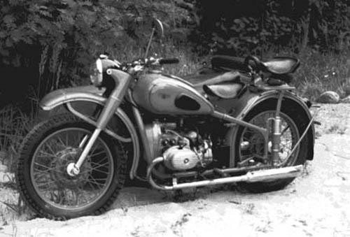 Мотоцикл урал техника