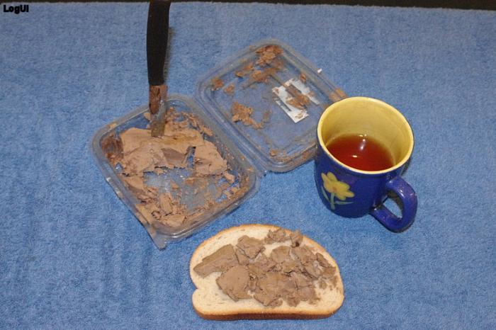Шоколадное масло с чаем
