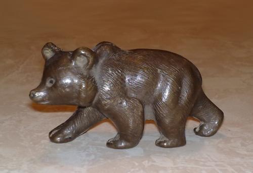 Советский пластмассовый медведь 195x