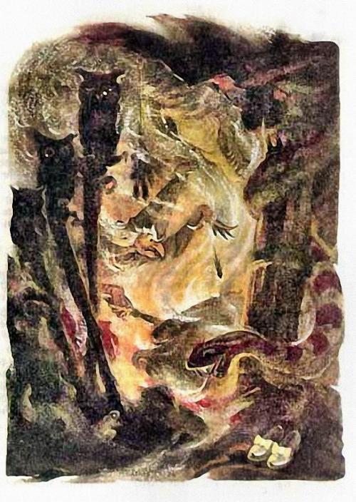 Картинка из мультфильма волшебник изумрудного города 6